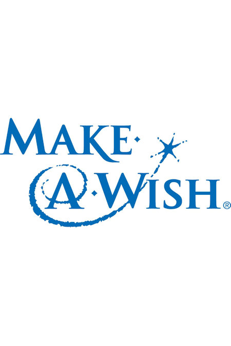Logo for the Make-A-Wish Foundation of America - granting wishes for children with critical illnesses.